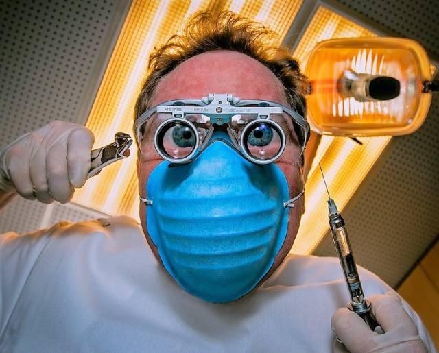 The stomatologist