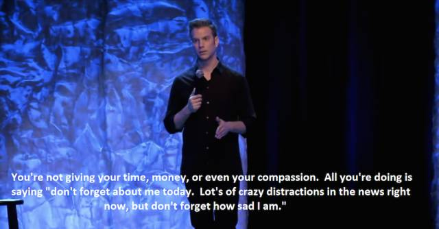 Comedian Anthony Jeselnik's Views on Social Media are Pretty Hard-hitting