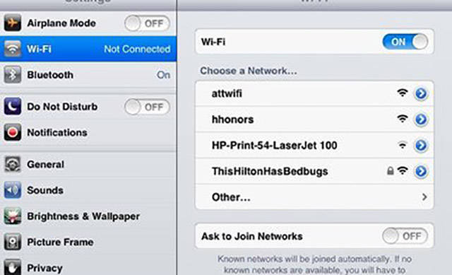 People Who Had a Little Fun Naming Their WiFi Networks