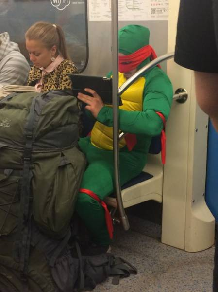 There Is No End to How Much Weirdness Happens on the Subway
