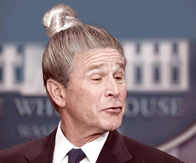 Man Buns Make Even World Leaders Look Stupid