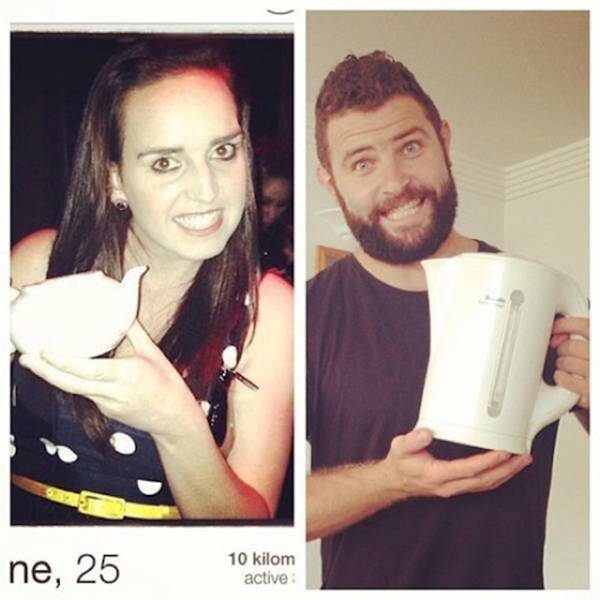 Random Dude Recreates Other People's Tinder Profiles with His Own Special Twist
