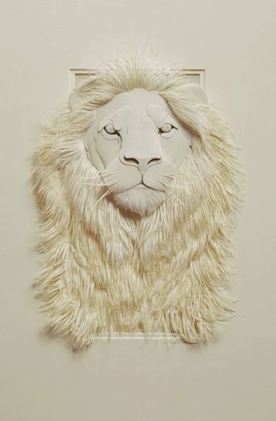 Amazing Works of Art Made Entirely of Paper