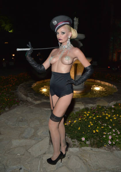 Titillating Inside Pics from Playboy's Epic Halloween Party