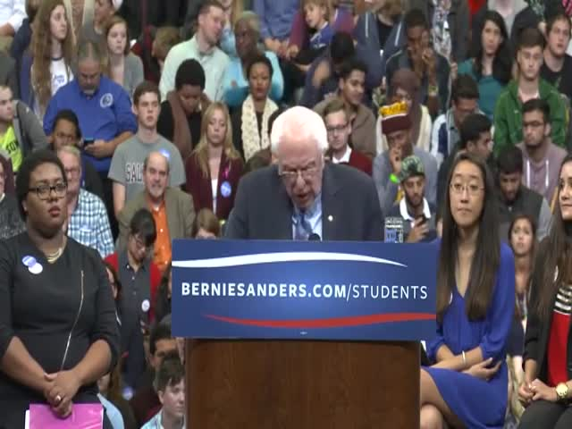 This Guy Can't Believe What Bernie Sanders Just Said