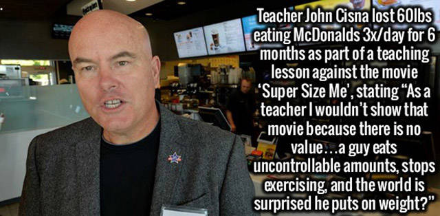 supersize me video facts
