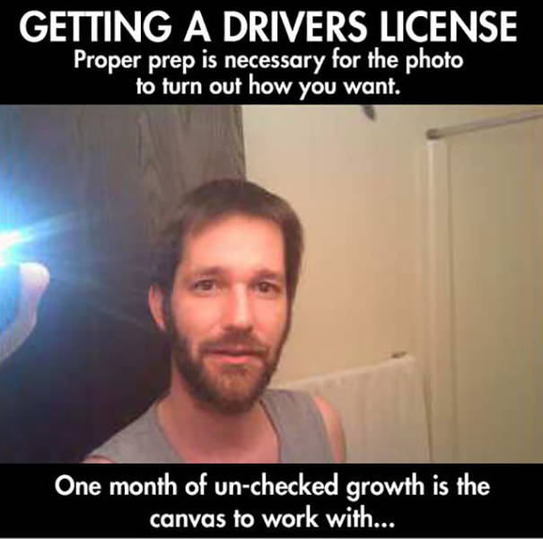 Man Has a Little Fun with His DMV Photo to Prank the System