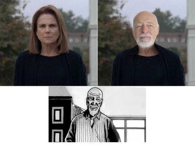 """The Walking Dead"" TV Characters vs. Their Original Comic Book Equivalents"
