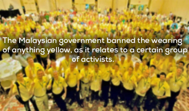 Weird Things That Have Really Been Banned in Countries around the World