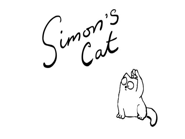 Simon's Cat Gets No Help from This Overly Energetic Pug