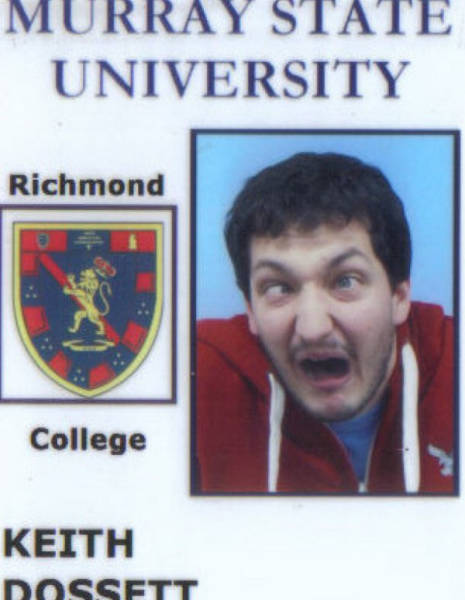 Wacky Student ID's of People Who Clearly Don't Take Themselves too Seriously