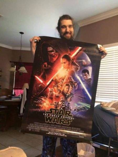 Dying Star Wars Fan Gets to Watch a Pre-release of the New Film
