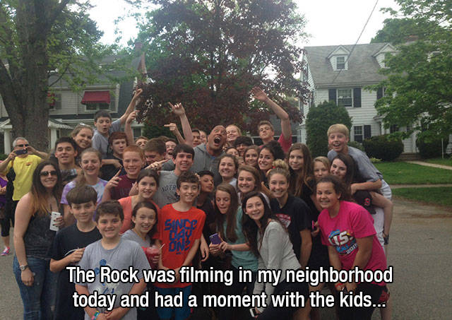 """It's Hard to Ignore How Awesome """"The Rock"""" Really Is"""