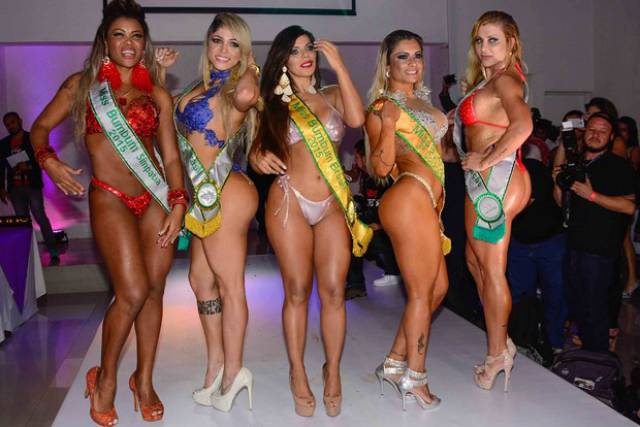 The Best of the Bums at the 2015 Miss BumBum Pageant in Brazil