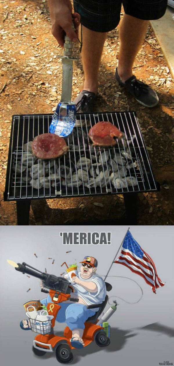 A Little American Patriotism to Brighten Your Day