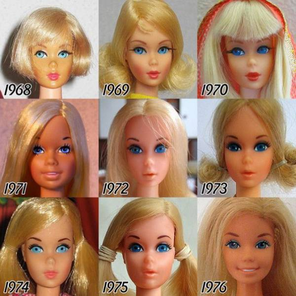 How Barbie Has Changed Since 1959 to Today