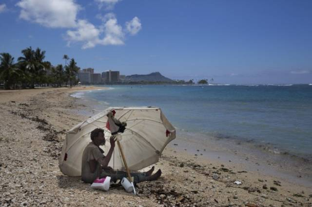 How the Homeless People Live in Hawaii