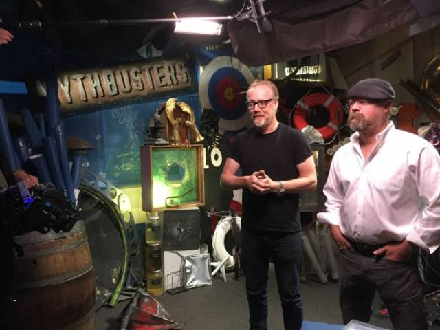 """Mythbusters"" Has Come to an End and Adam Savage Shares Inside Pics from the Last Day on Set"