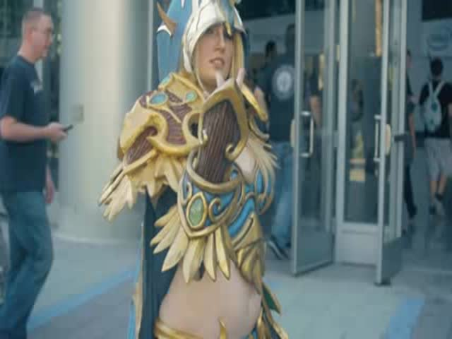 An Awesome Cosplay Montage Video of all the BlizzCon 2015 Highlights