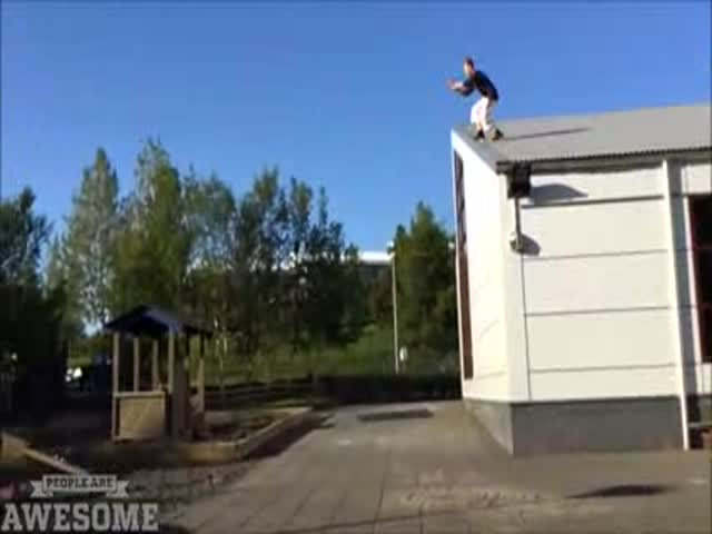 A Kick Ass Compilation of Some Very Talented Parkour and Freerunning Enthusiasts