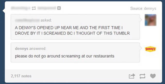Denny's Tumblr Page Has the Strangest Posts of any Food Chain Ever