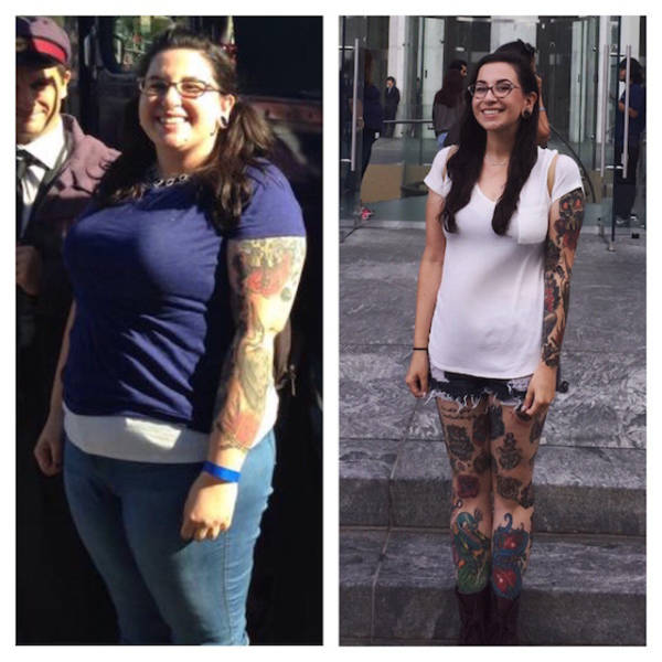 These Fantastic Body Makeover Prove That You Can do Anything You Put Your Mind to