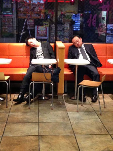 If You Are a Working Class Man in Japan You Have to Know How to Handle a Drink