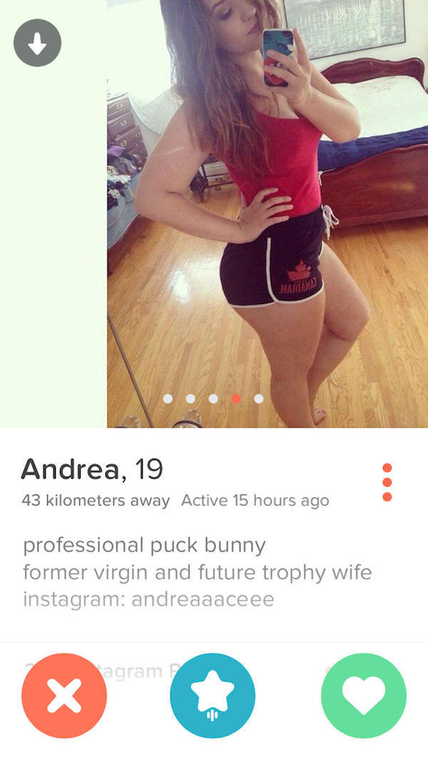 Tinder Profiles That Aren't Messing Around