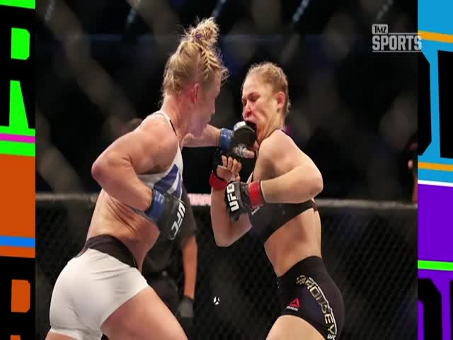 Holly Holm Defends Ronda Rousey against Haters