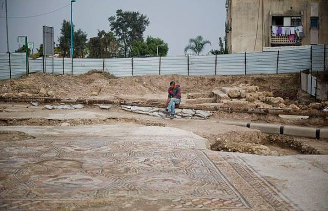 Archaeologists Uncover an Historic Mosaic in Israel
