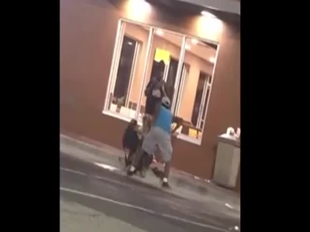 This Guy Gets What He Deserves When He Harasses a Homeless Man