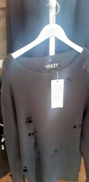 Kanye West Wants a Small Fortune for This New Shirt with His Name on