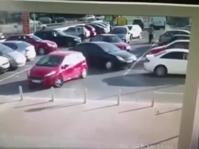 Car Park Aggression Takes an Unexpected Twist