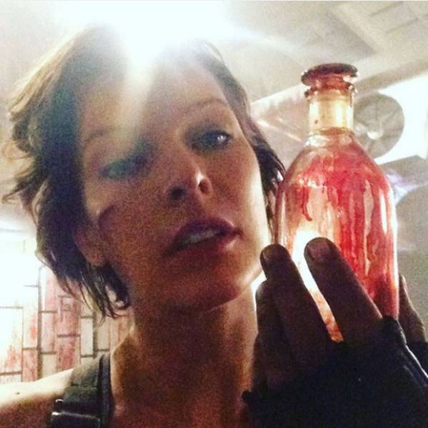 """Milla Jovovich Debuts Her """"Alice as an Older Lady"""" Look for the New Resident Evil Movie"""