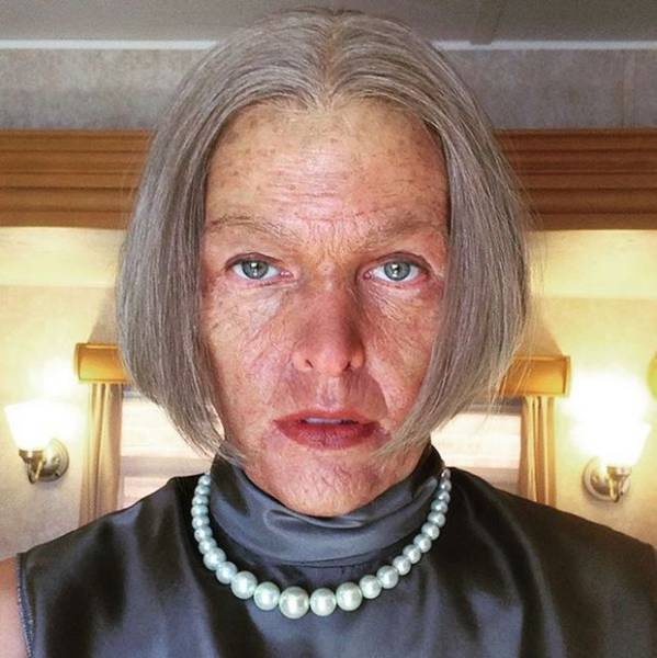 "Milla Jovovich Debuts Her ""Alice as an Older Lady"" Look for the New Resident Evil Movie"