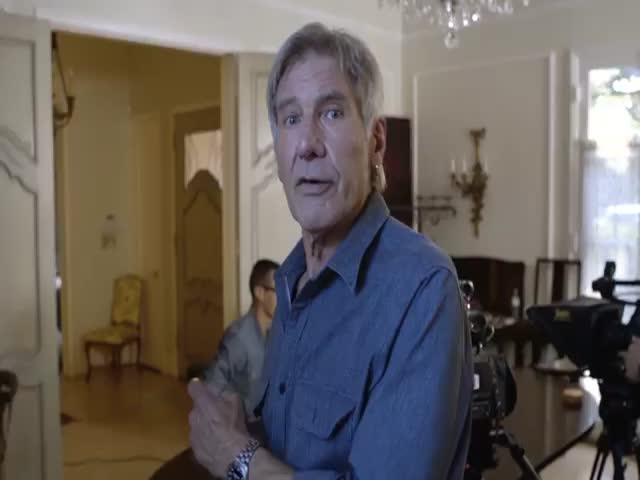 Harrison Ford Announces a New Star Wars Charity Contest to Unsuspecting Fans