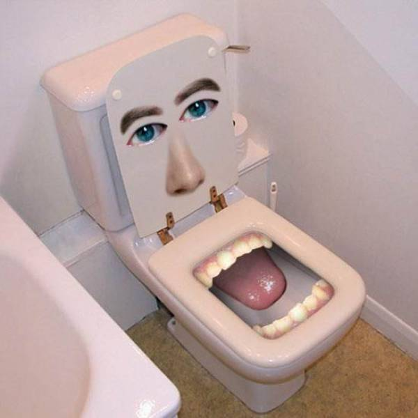 Some Weird and Wacky Toilets