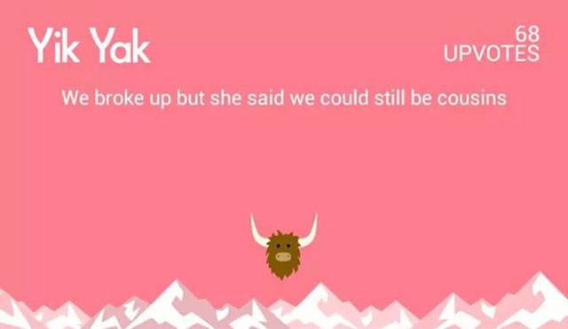 Yik Yak Is One Very Funny Application