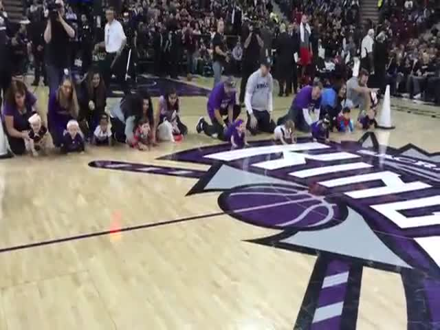 The Sacramento King's 2015 Baby Race