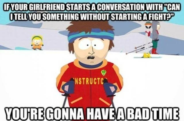 Amusing Memes That Men with Girlfriends Will Understand