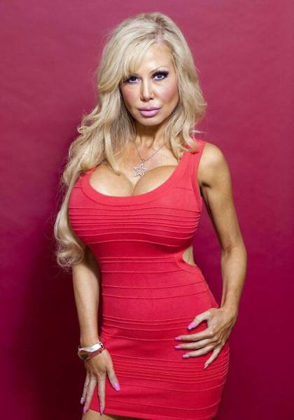 This Real Life Barbie Doll Has Boobs So Big They Might Explode