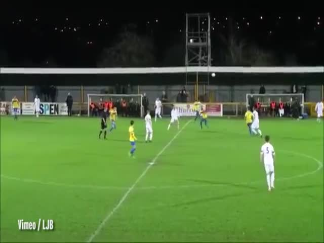 Player Scores a Crazy Own Goal Thanks to a Little Unhelpful Assistance from the Wind