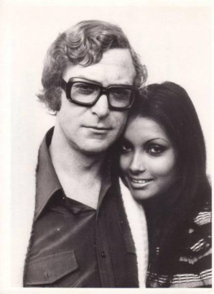 Michael Caine and His Beautiful Wife Shakira Bakish Then and Now