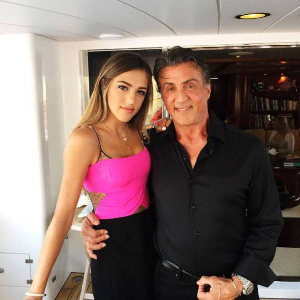 Sylvester Stallone Has One Good Looking Family
