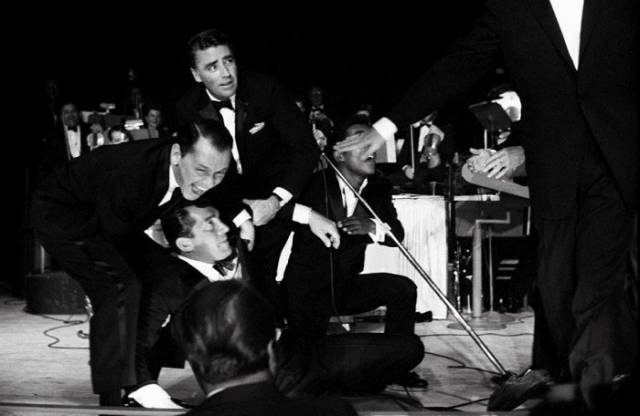 "The ""Rat Pack"" Used to Party with Anyone and Everyone Back in the Day"
