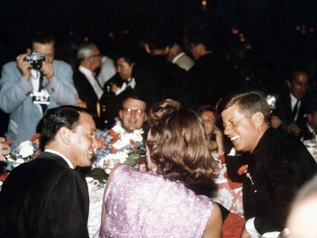 """The """"Rat Pack"""" Used to Party with Anyone and Everyone Back in the Day"""