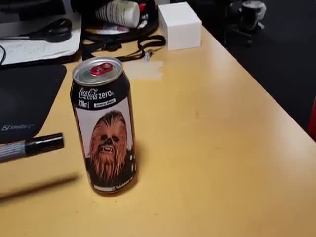 "Chewbacca Has Partnered with Coke in This Awesome ""Cokebacca"" Hybrid"