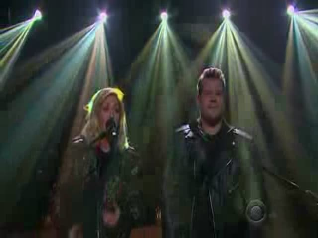 James Corden and Ellie Goulding Team Up for an Epic Duet