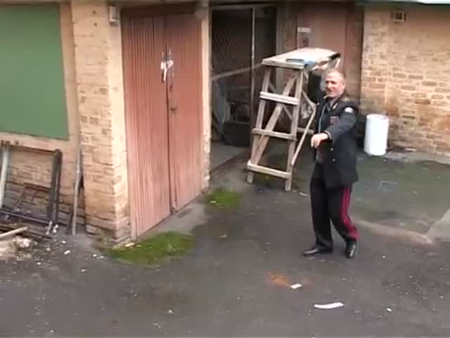 This Russian Ex-Spetsnaz Is a Knife Throwing Gangster