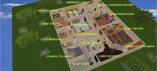 This Underground Bunker Is Fit for a Millionaire
